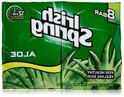 Irish Spring Aloe Deodorant Soap Unisex, 8 Count