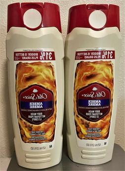 Old Spice Amber Body Wash Deodorant Body Spray