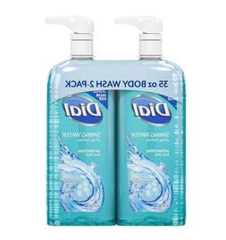 Dial Antibacterial Body Wash, Spring Water