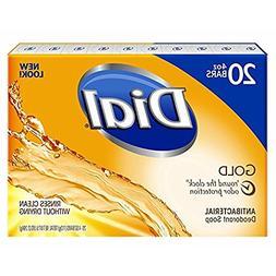 Dial Antibacterial Deodorant Gold Bar Soap, 4 Ounce