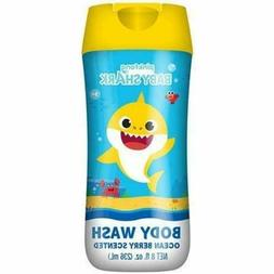 Pinkfong Baby Shark Child Body Wash Soap Ocean Berry Scented