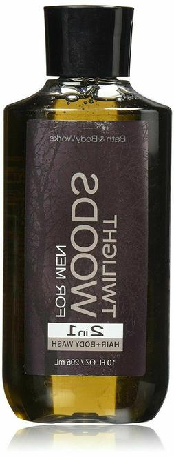 Bath & Body Works 2in1 Hair & Body Wash Twilight Woods For M