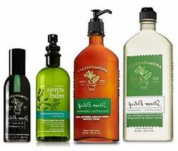 BATH AND BODY WORKS Aromatherapy Body Shower Wash Gel Cream