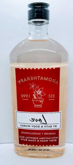 Bath & Body Works Aromatherapy Love Body Wash Foam Bath 10 o