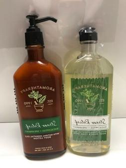 Bath & Body Works AROMATHERAPY Stress Eucalyptus Spearmint B