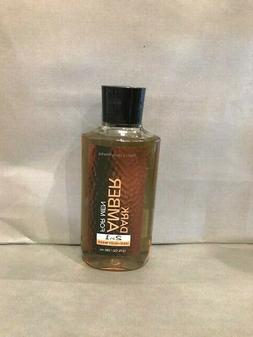 Bath & Body Works Dark Amber 10oz Hair/Body Wash for Men..Fr