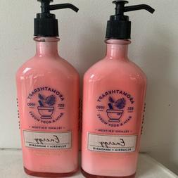 Bath & Body Works Energy Plumeria Mandarin Essential Oil Bod