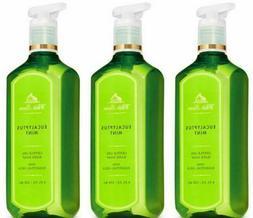 Bath & Body Works EUCALYPTUS MINT Gentle Gel Hand Soap 8 fl