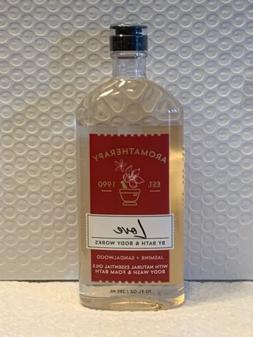 Bath And Body Works 2 Bottles Of Jasmine Sandalwood Body Was