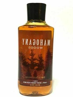 Bath & Body Works Mahogany Woods 2-in-1 Hair and Body Wash -