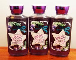 Bath & Body Works MERRY BERRY CHRISTMAS Shower Gel Body Wash