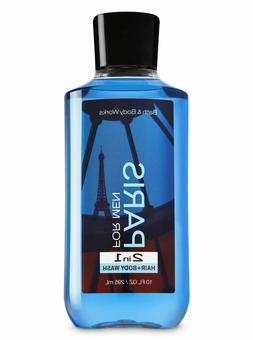Bath and Body Works PARIS for Men 10.0 oz 2 in 1 Hair Body W