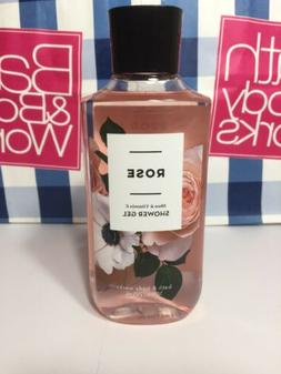 Bath and Body works ROSE Shower Gel body wash  bath 10 fl oz