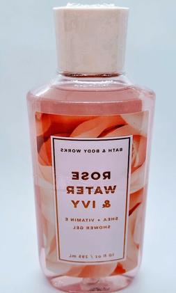 Bath and Body Works ROSE WATER & IVY  Shower Gel 10 fl oz /2