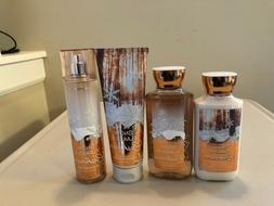 Bath & Body Works Snowflakes Cashmere Body Lotion Cream Gel