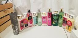 Bath and body works sugar scrubs body wash sprays and lotion