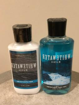 Bath & Body Works WHITEWATER RUSH For Men Body Lotion Body W