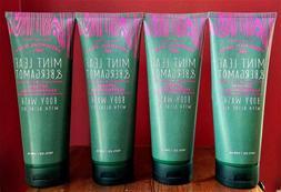 Bath and Body Works x4 Essential Oils MINT LEAF & BERGAMOT B