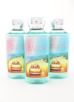 Bath Body Works 3 Endless Weekend Shower Gel Body Wash 10oz