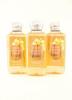 Bath Body Works 3 Warm Vanilla Sugar Shower Gel Body Wash 10