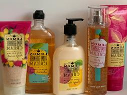 Bath Body Works Lemon Pomegranate Cream U PICK Mist Lotion C
