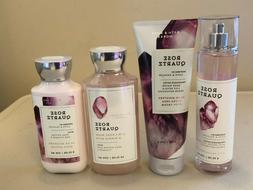Bath Body Works ROSE QUARTZ Fragrance Mist Body Cream Wash B