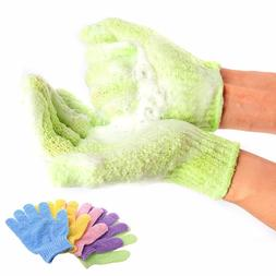 bath for peeling exfoliating mitt glove