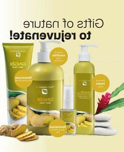 Nutrimetics Body/Hair Beauty Care Ginger Series 4-Types Unis