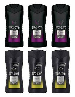 AXE BODY WASH 6 PACK - 3 EXCITE & 3 YOU 250ML