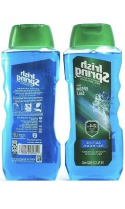 Irish Spring Body Wash Active Refresh 18 fl oz Lot of 2