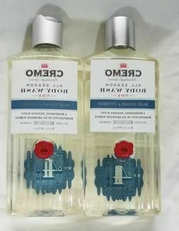 CREMO Body Wash BLUE CEDAR & CYPRESS  #4 Shower Gel Masculin