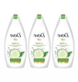 DOVE BODY WASH  CUCUMBER  & Green Tea Shower Gel 500ml PACK