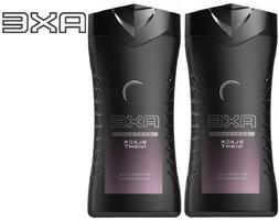 AXE BODY WASH For Men * Black Night * 250 ml x 2 pcs