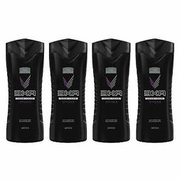 AXE Body Wash for Men Excite 16 oz 4 Count 16 Ounce, 4 Count