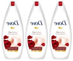 Dove Body Wash Purely Pampering Velvet Soft Shower Gel 500 M
