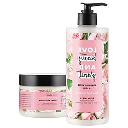 Love Beauty And Planet Body Wash and Scrub, Murumuru Butter,