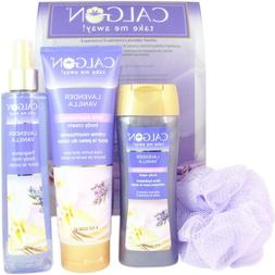 Calgon Lavander Vanilla 4 Piece Gift Set for Men