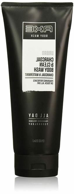 AXE Charcoal & Clean Body Wash : Watermint All Day Release :