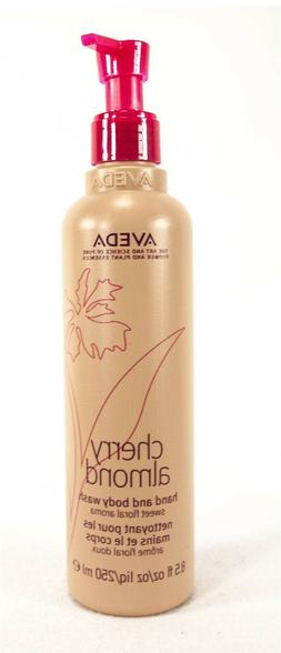 Aveda Cherry Almond Hand and Body Wash Sweet Floral Aroma 8.