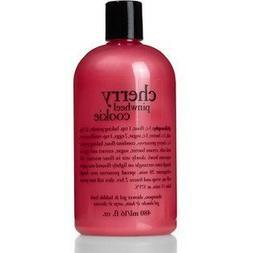 Philosophy Cherry Pinwheel Cookie Shampoo ,Shower Gel & Bubb