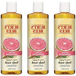Burt's Bees Extra Energizing Citrus and Ginger Body Wash - 1