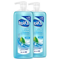 Dial Clean and Refresh Antibacterial Body Wash, Spring Water