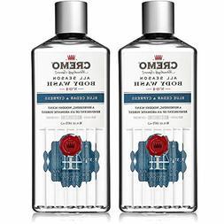 Cremo All Season Body Wash, Blue Cedar Cypress, 16 oz. 2-pac