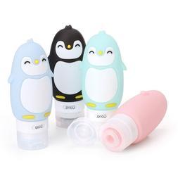 Cute Cartoon Penguin Travel Bottles For Shampoo, <font><b>Lo