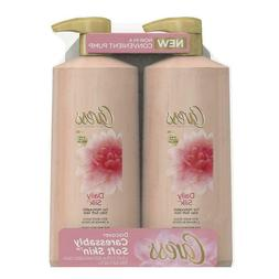 Caress Daily Silk Body Wash, 2 pk./25.4 oz