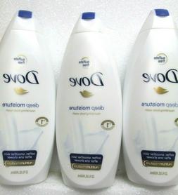 Dove Deep Moisture Nourishing Body Wash - 22 oz / 650 mL / 3