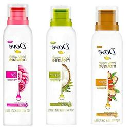 Dove BODY WASH - Argan Oil, Coconut Oil, Rose - Concentrated