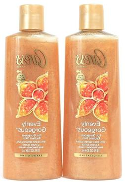 Evenly Gorgeous Exfoliating Body Wash by Caress, 12 Ounce by
