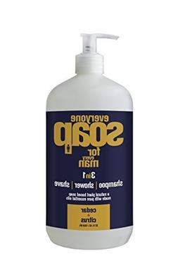 Everyone Soap Men Cedar & Citrus EO 32 oz Liquid