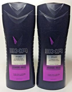 Excite Revitalizing Shower Gel by AXE for Men - 16 oz Shower